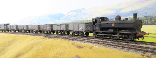 Sancheng/Tower Models 7mm Finescale O Gauge BR Black Class 57XX 0-6-0PT '8795' Weathered DCC Sound!