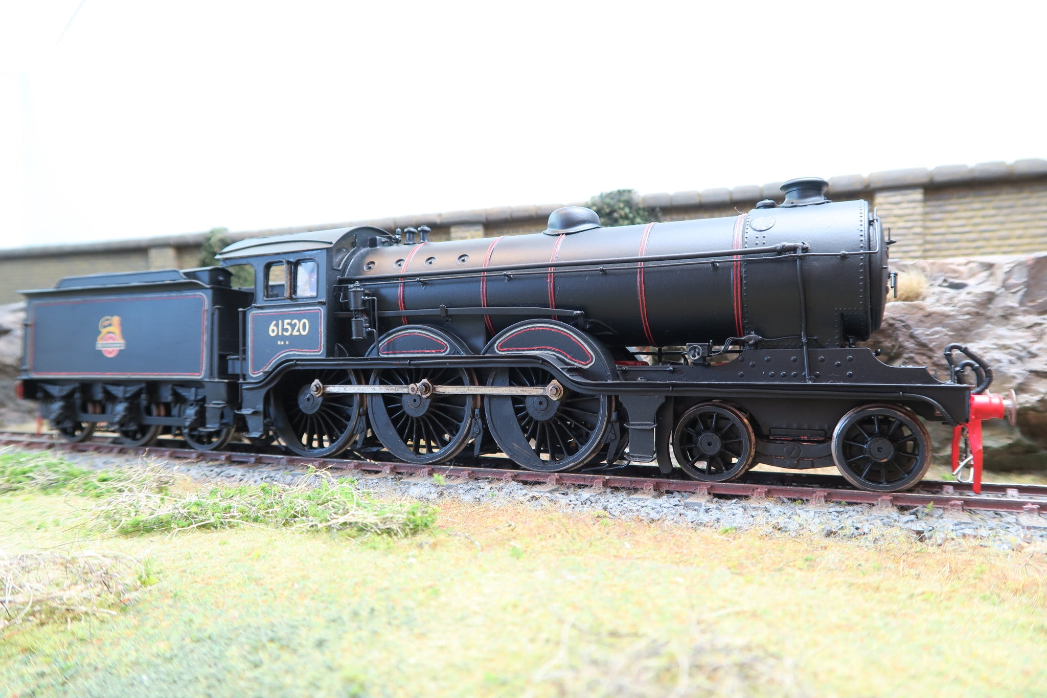 7mm Finescale O Gauge Kit Built BR Mixed Traffic B12 4-6-0 '61520'