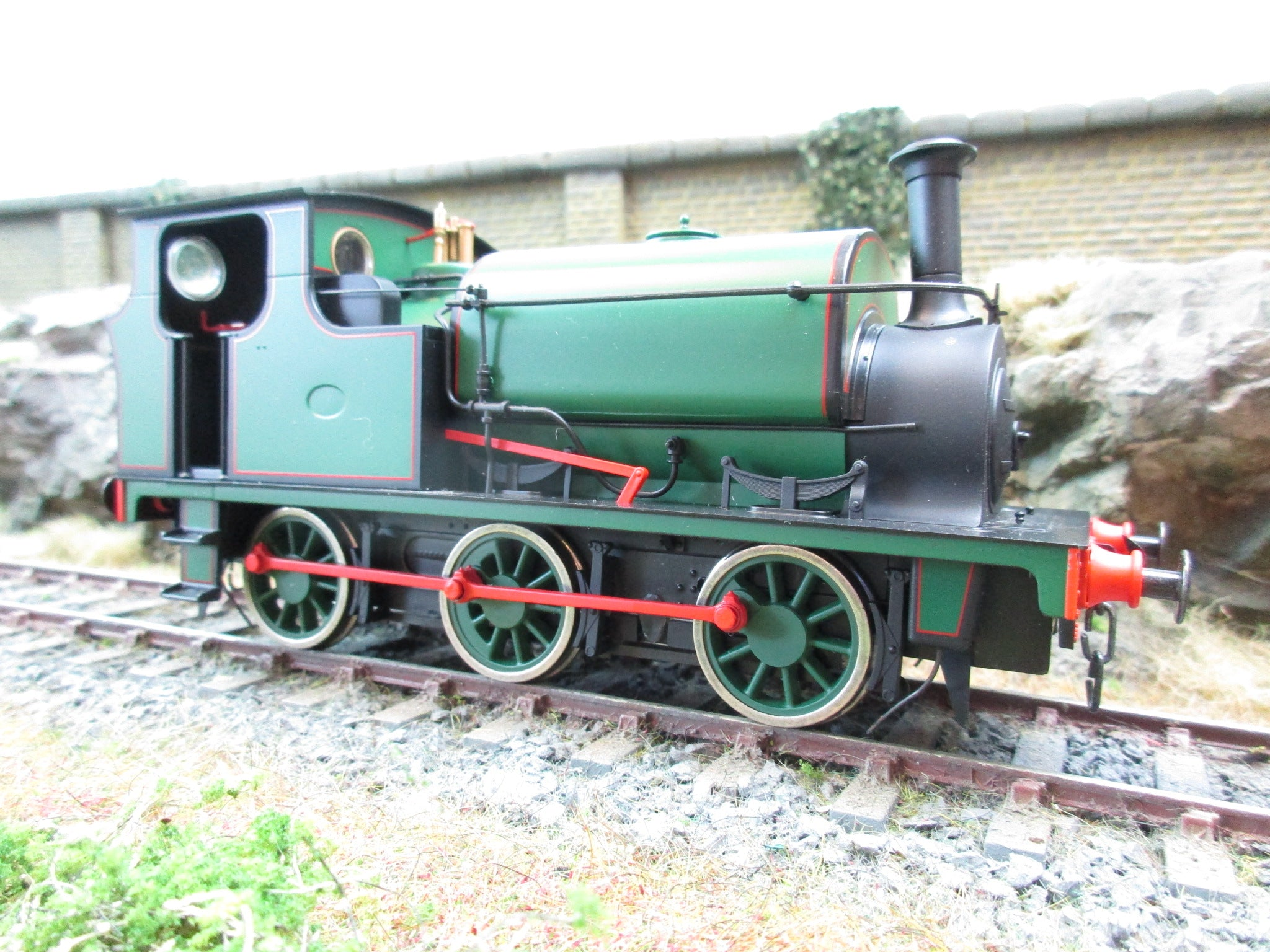 Ixion 7mm Finescale O Gauge Hudswell Clarke 0-6-0 Standard Contractor's Tank