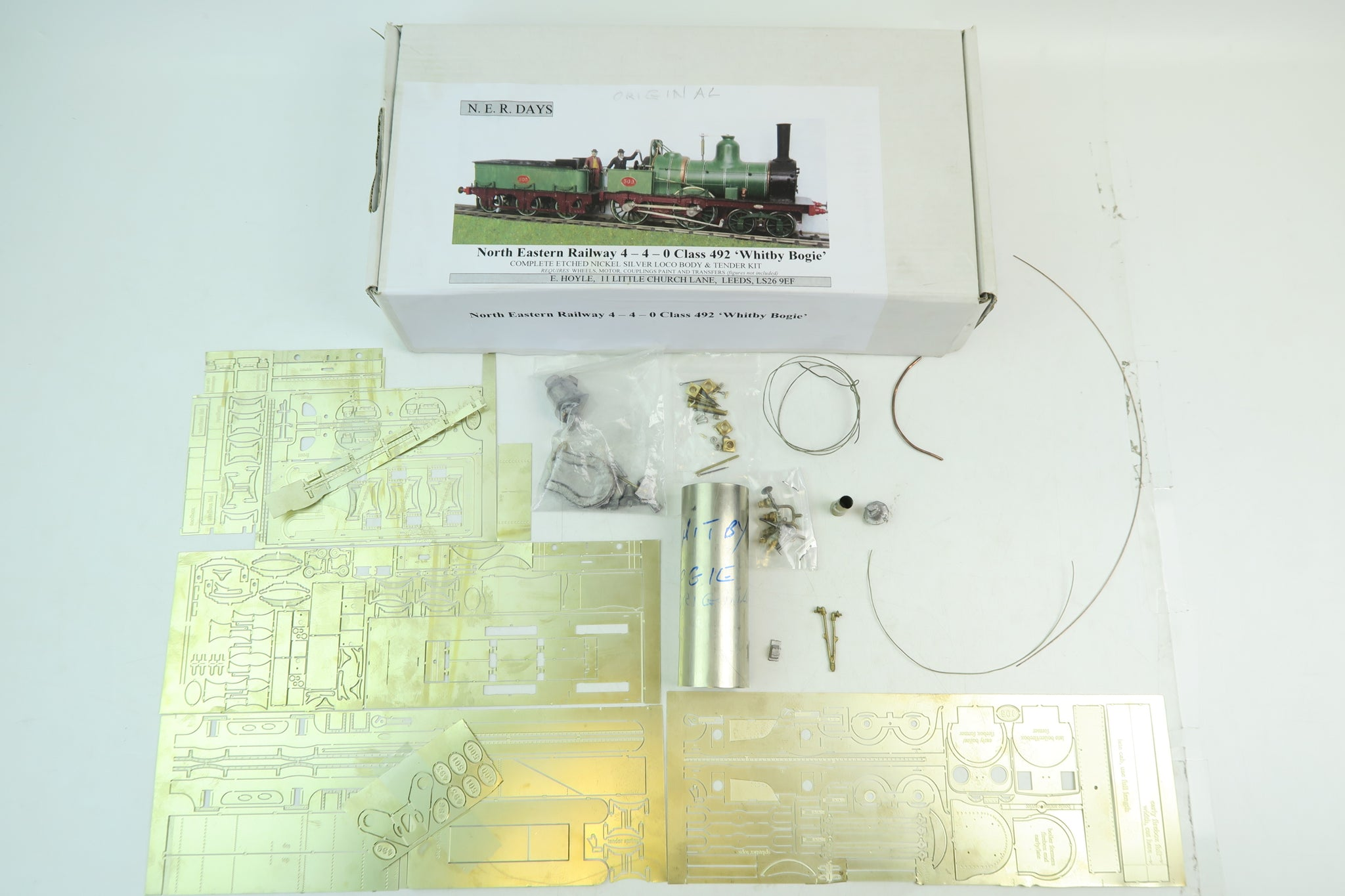 NER Days 7mm Finescale O Gauge NER Class 492 4-4-0 'Whitby Bogie'