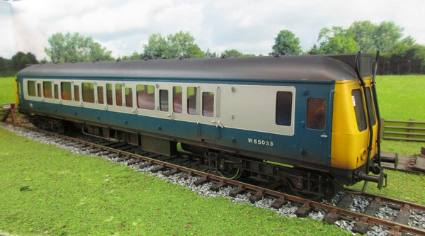 Bachmann Brassworks 7mm O Gauge BR Blue/Grey Class 121 Diesel Locomotive 'W55033'