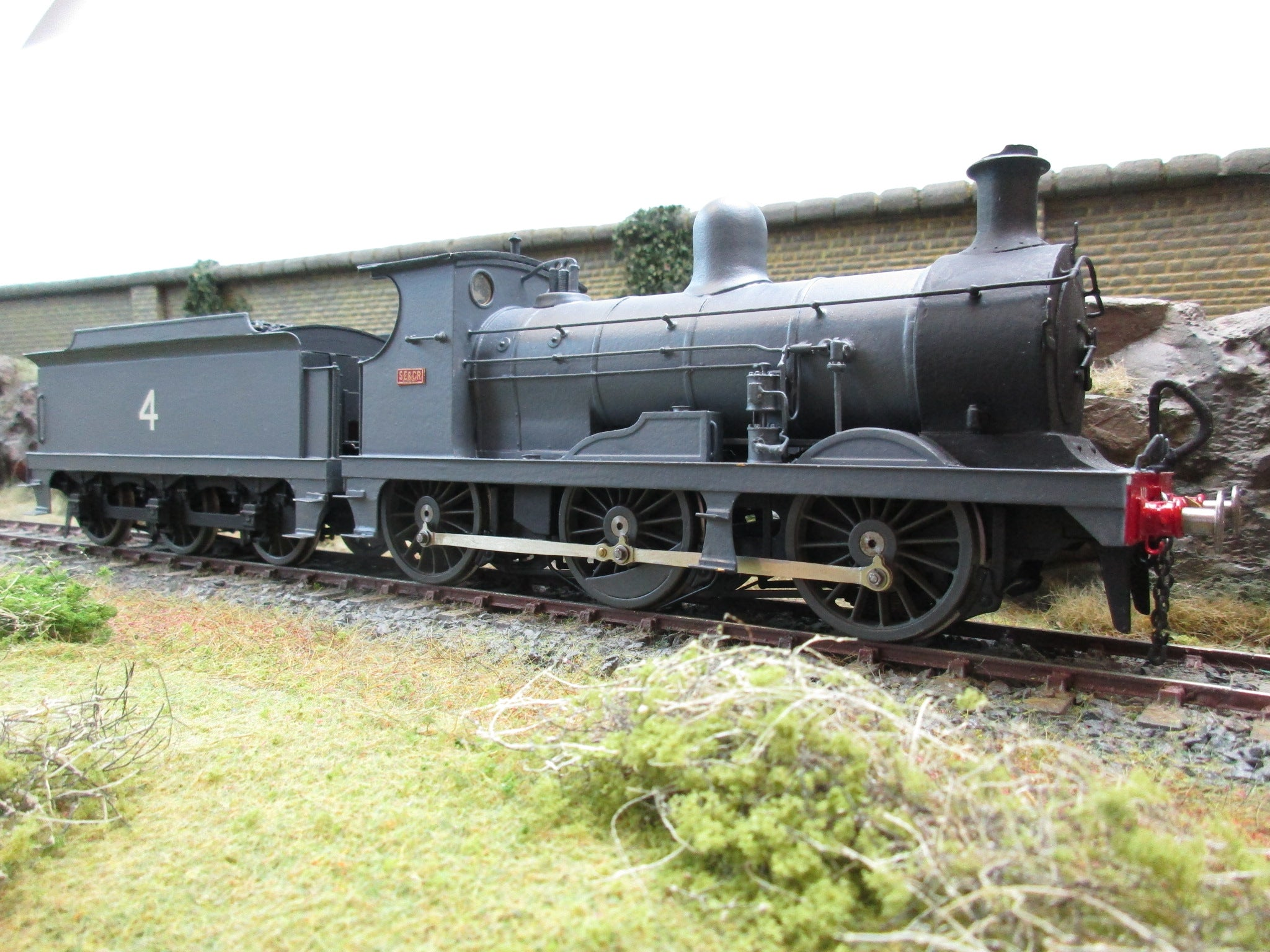 7mm Finescale O Gauge Kit Built SE&CR Wainwright 'C' Class 0-6-0 '4'