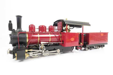 Roundhouse 16mm G Scale Live Steam Fowler Maroon 0-6-2 '16255'