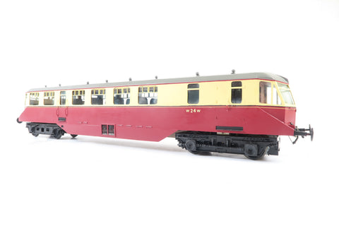 Gauge 1 1:32 Kit/Scratch Built Crimson & Cream Railcar #22 with RC