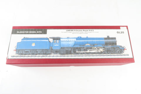 Gladiator Model Kits 7mm Finescale O Gauge LMS/BR Princess Royal 4-6-2 Locomotive Kit