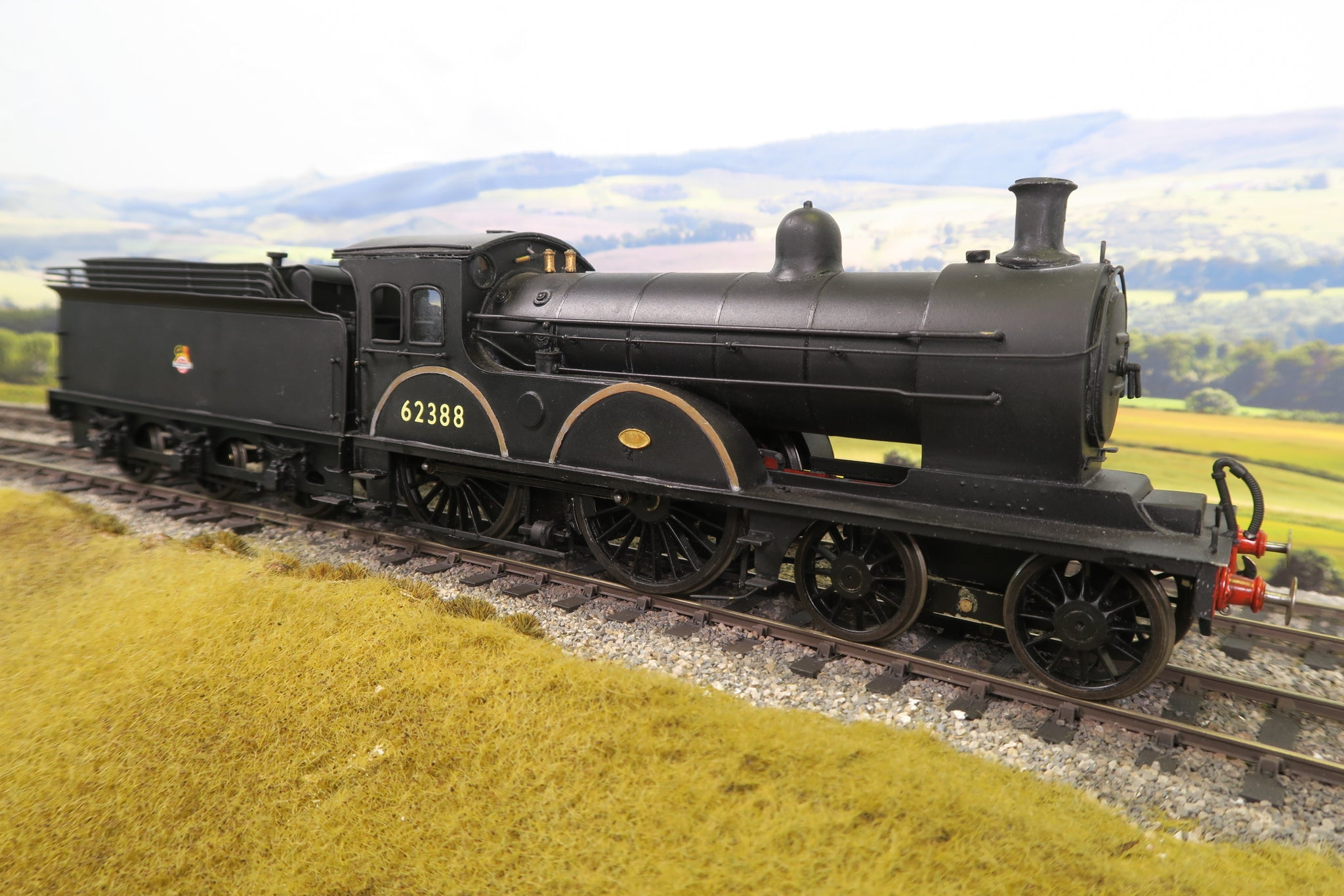 7mm Finescale O Gauge Kit Built BR 4-4-0 Class D '62388'