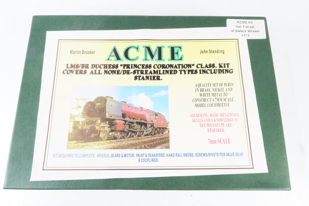 "ACME LMS/BR Duchess ""Princess Coronation"" Loco Kit with Slater's Wheels"