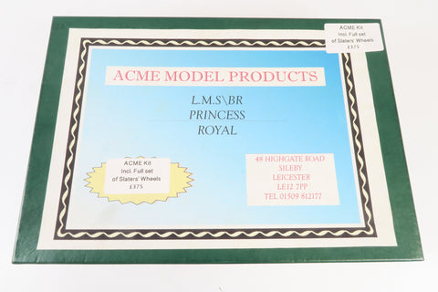 ACME LMS/BR Princess Royal Kit with Slater's Wheels