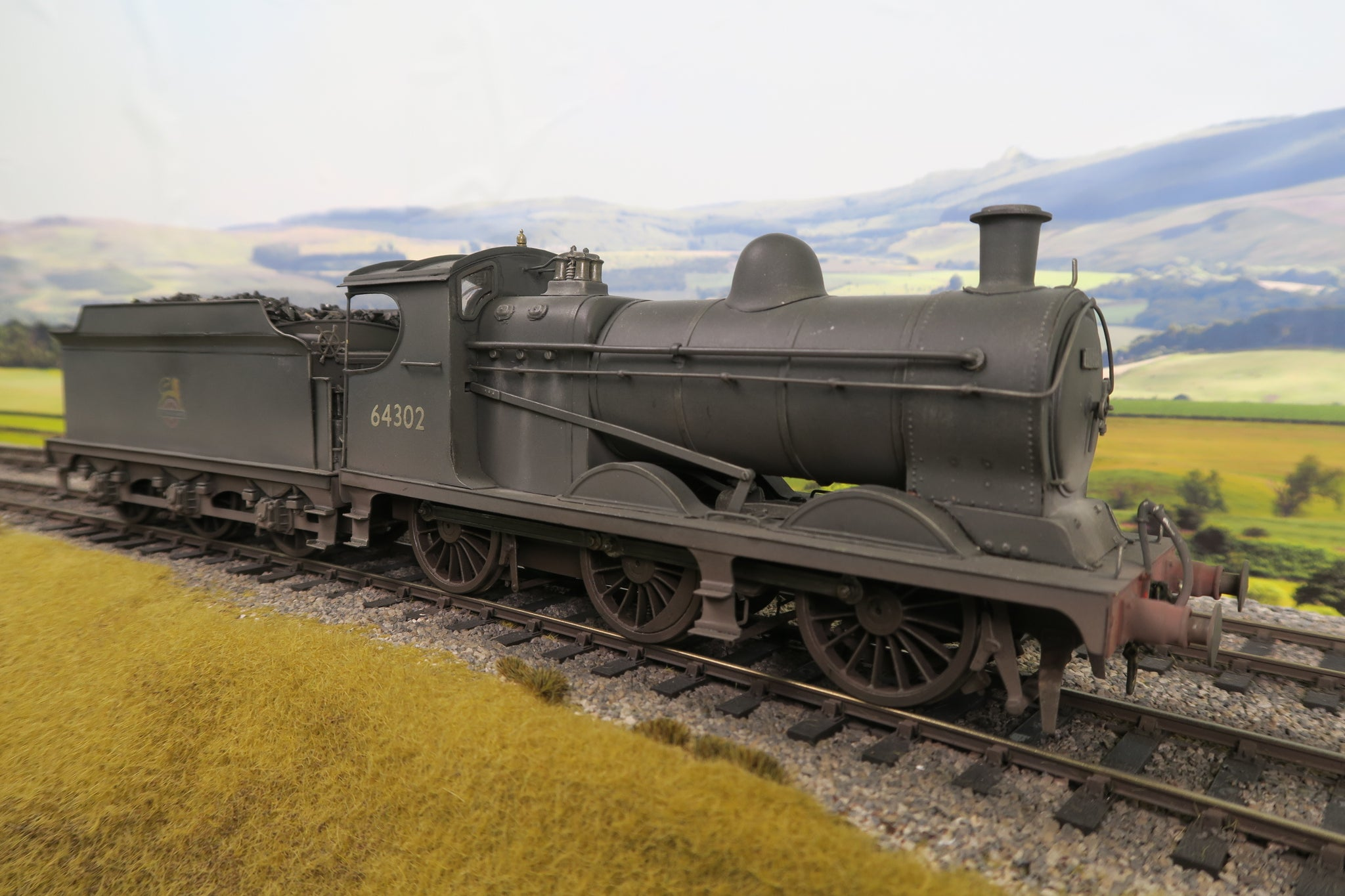 7mm Finescale O Gauge Kit Built BR J11 0-6-0 '64302