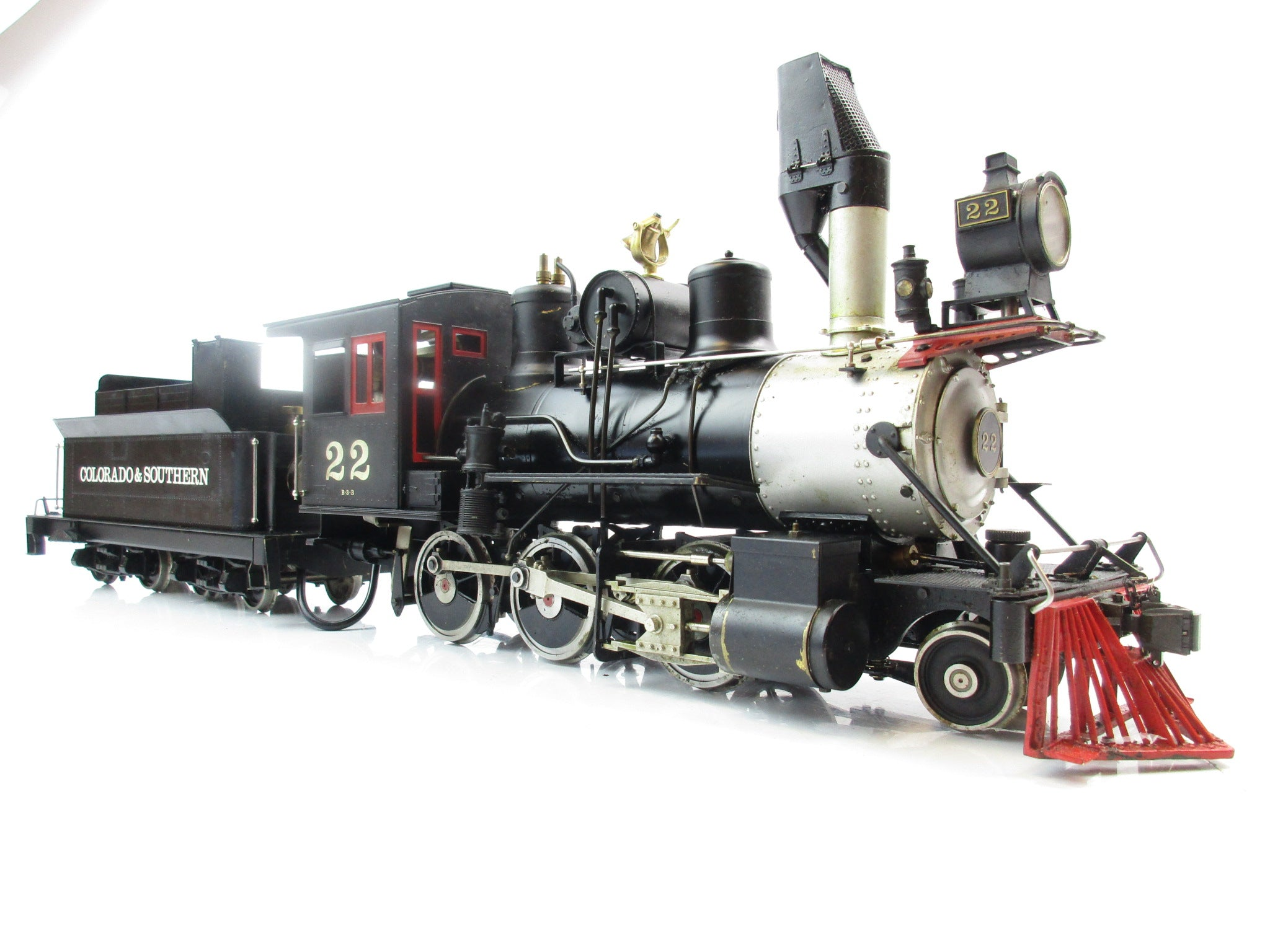 Aster Gauge 1 Live Steam Colorado and Southern Mogul 2-6-0 '22'