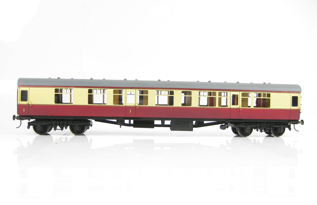 Kit Built Gauge 1 10mm BR Blood & Custard Composite CK Mark 1 Coach