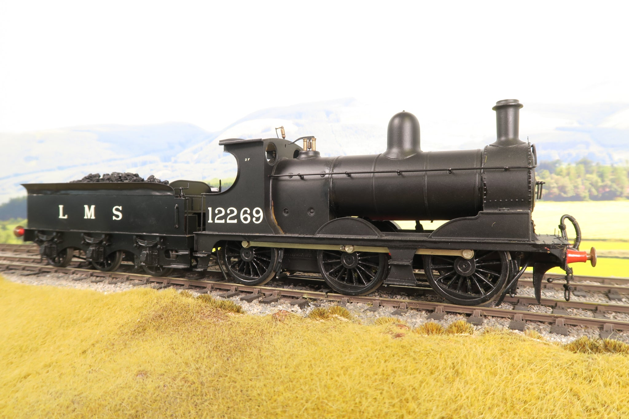7mm Finescale O Gauge Kit Built LMS Black Class 11 0-6-0 '12269'