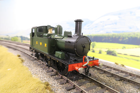 Sancheng/Tower Models 7mm Finescale O Gauge GWR Green 14XX 0-4-2T Steam Locomotive