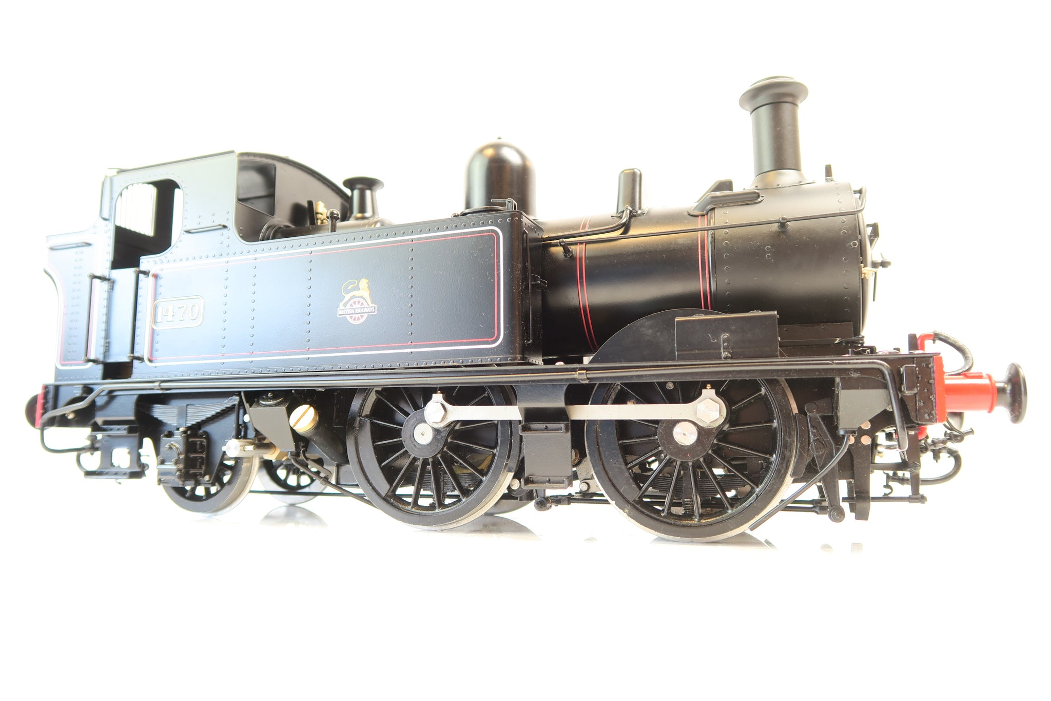 Kingscale / Silver Crest Models Gauge 3 1:22.6 Live Steam BR Black Lined 0-4-2 14xx '1470'