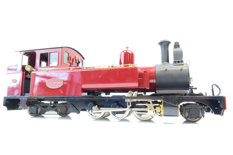 Roundhouse 16mm G Scale Live Steam Leek & Manifold 2-6-4T with Radio Control!