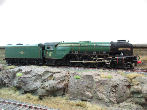 7mm Finescale O Gauge Kit Built BR Green A2 60532 'Blue Peter' DCC Sound!