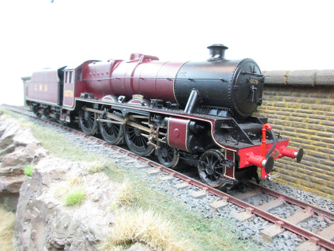 7mm Finescale O Gauge Finescale Kit Built DJH LMS Lined Maroon 4-6-0 Jubilee '5579' 'Punjab'