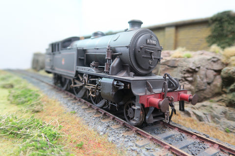 7mm Finescale O Gauge Kit Built BR 2-6-2T V1 '67680'