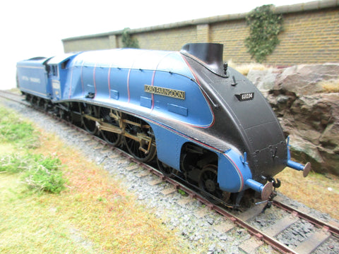 7mm Finescale O Gauge Kit Built A4 60034 'Lord Faringdon' (Experimental Blue)