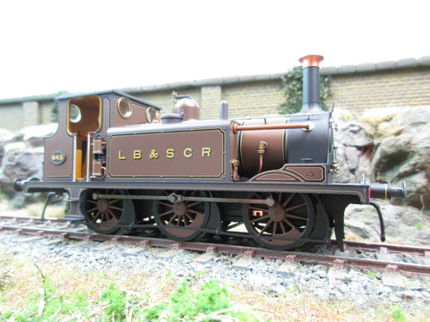Dapol 7mm Finescale O Gauge 7S-010-009 Terrier A1 Gipsyhill 643 Marsh Umber Brown DCC Fitted