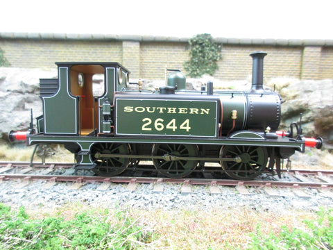 Dapol 7mm Finescale O Gauge 7S-010-003 A1X Terrier SR Lined Green 2644, DCC Fitted!