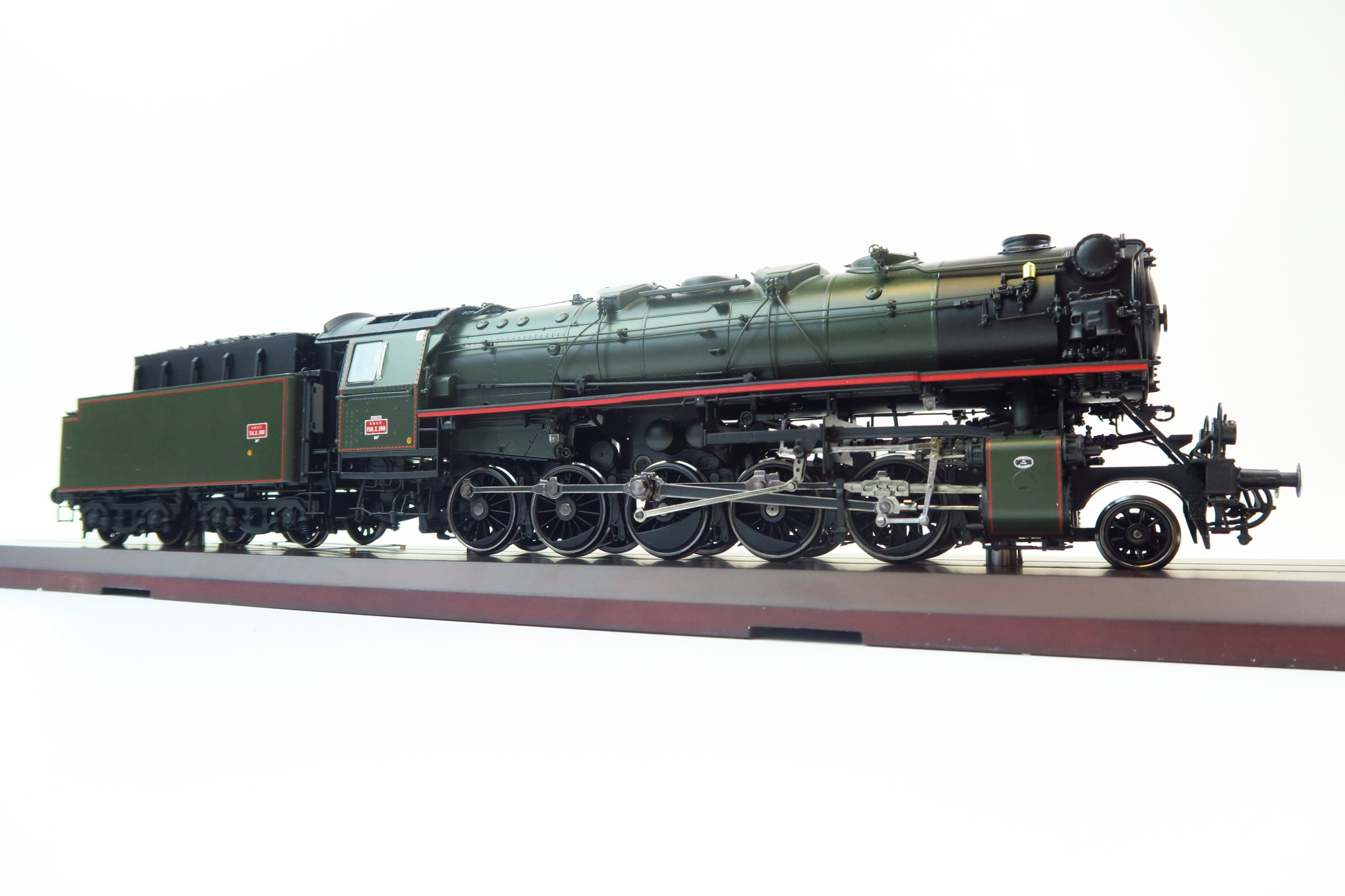 MTH 22-3528-2 2-Rail Finescale O Gauge SNCF 150 X Era IIIa Steam Engine Proto Sound 3.0!