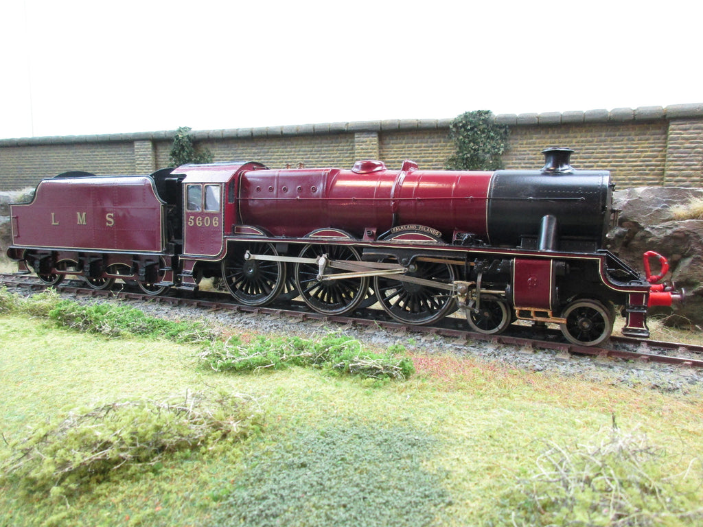 7mm Finescale O Gauge Kit Built LMS Jubilee Class 4-6-0 '5606' 'Falkland Islands'