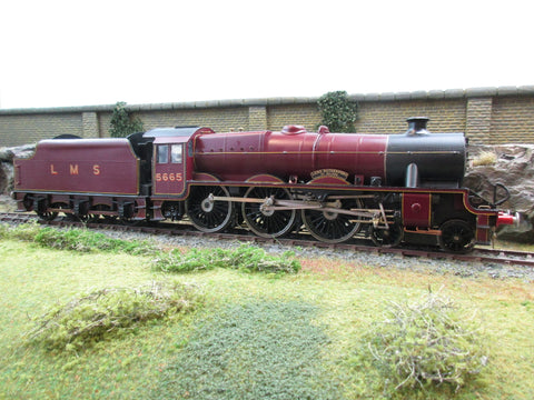 7mm Finescale O Gauge Kit Built LMS Lined Maroon Jubilee 4-6-0 '5665' 'Lord Rutherford of Nelson'