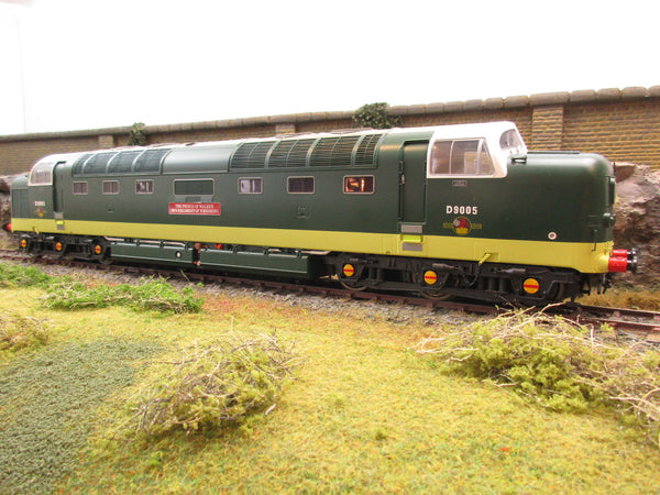 Heljan O Gauge 55021 Tower Models Limited Edition Deltic D9005 'The Prince of Wales's Own Regiment of Yorkshire'