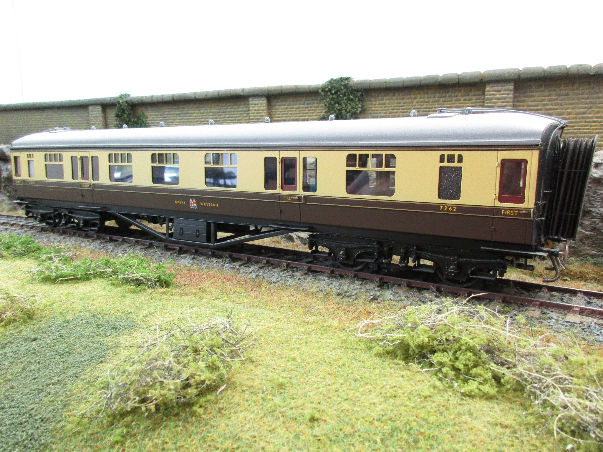 7mm Finescale O Gauge Kit Built Gwr Chocolate And Cream