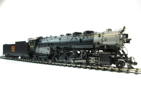 Iron Horse Models/Precision Scale Models O Gauge CB&O 2-10-4 M-4a FACTORY PAINTED ELESCO F.W.H ROAD #6315