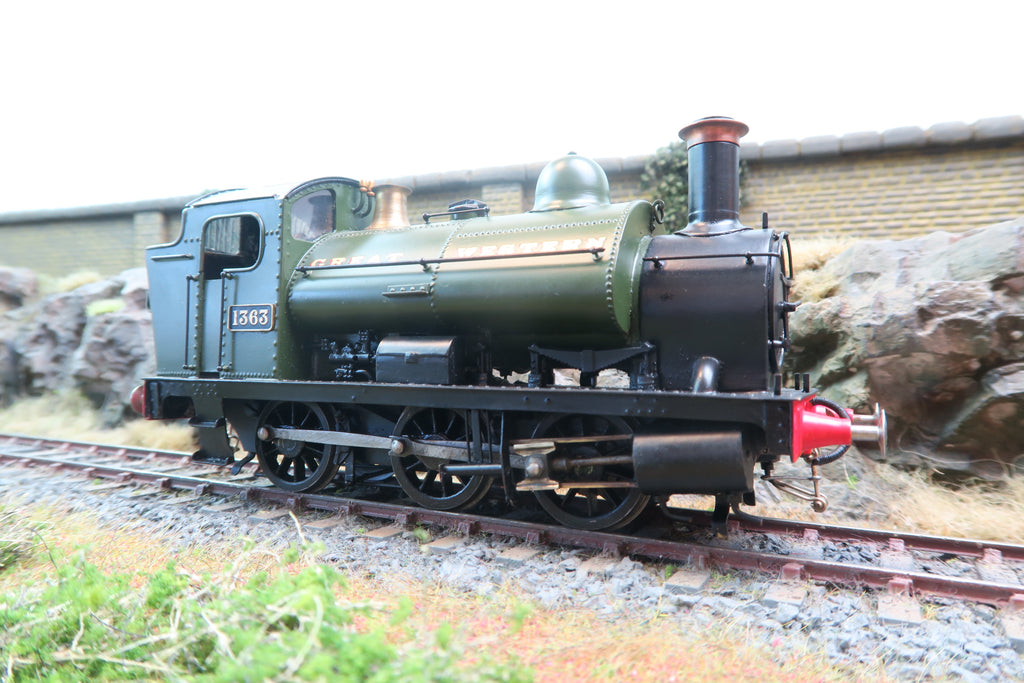 Tower Models 7mm O Gauge Finescale Kit Built GWR 0-6-0ST '1363'