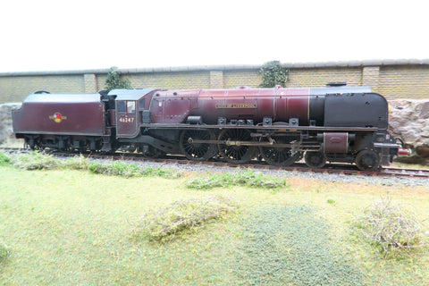 7mm Finescale O Gauge Kit Built BR Maroon 4-6-2 Duchess Class 46247 'City of Liverpool' Weathered!