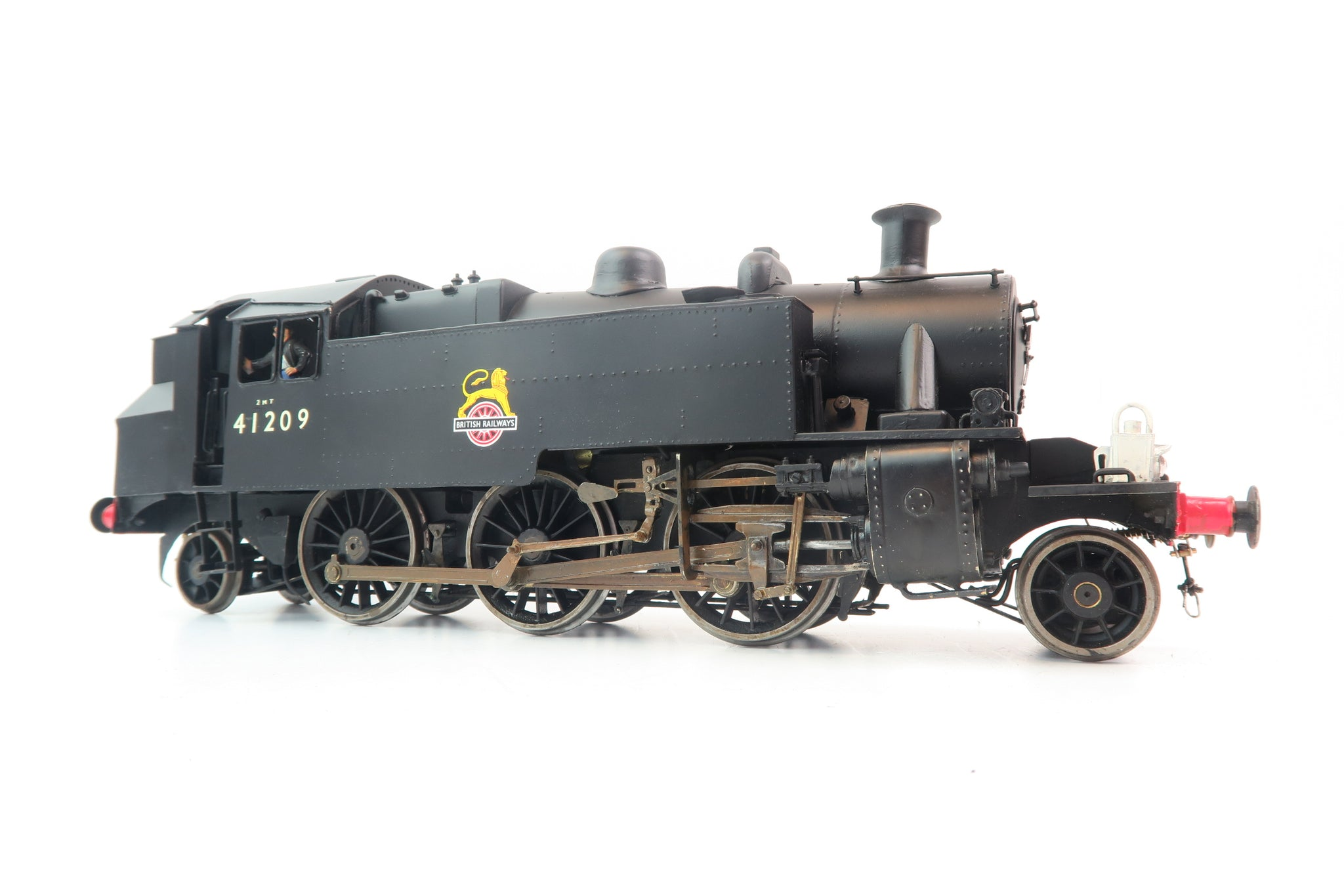 Gauge 1 Kit/Scratch built BR Black Class 2MT 2-6-2T '41209'