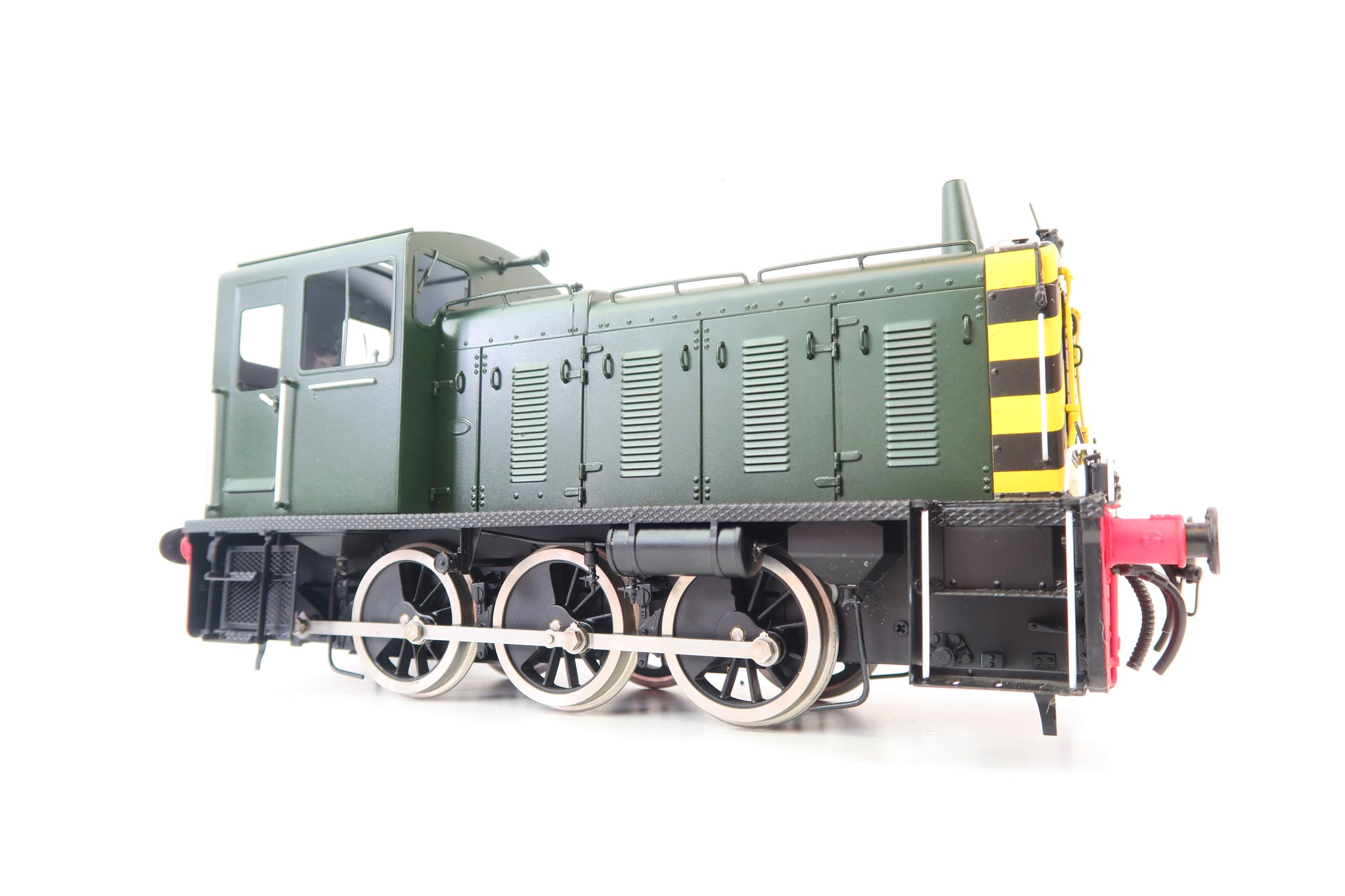 Bachmann Brassworks/Sancheng Gauge 1 1:32 Class 03 Shunter, BR Green with Wasp Stripes