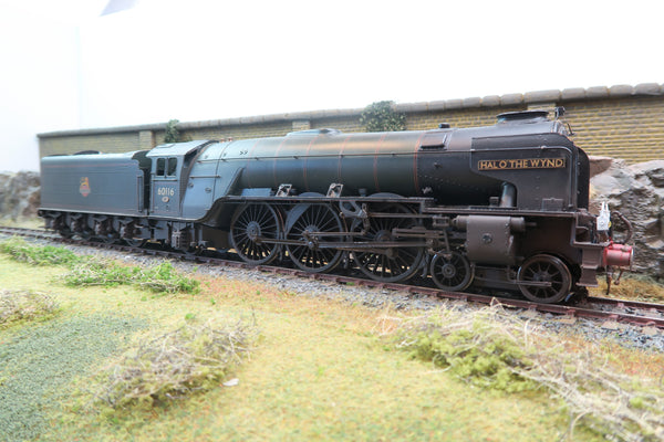 7mm Finescale O Gauge Kit Built BR Lined Green A2 Pacific 4-6-2 '60116' 'Hal O' The Wynd' DCC Sound and Smoke!