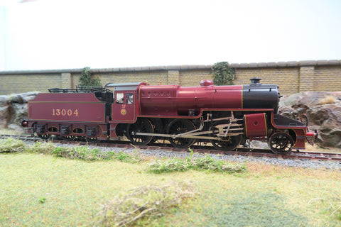 "Bachmann Brassworks/Sancheng 7mm Finescale O Gauge LMS Lined Maroon 2-6-0 ""Crab"" '13004'"