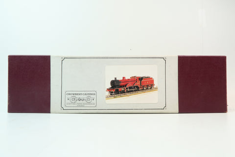 Chowbent Castings 7mm Finescale O Gauge LMS Standard Compound kit with Tender & Wheels