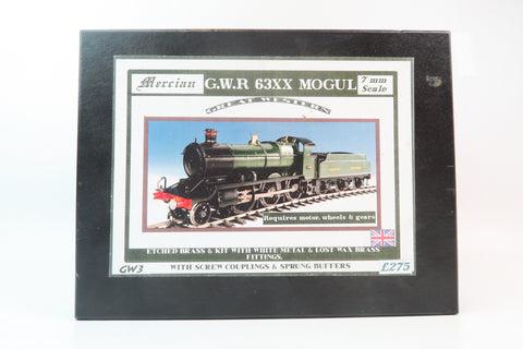 Mercian Models 7mm Finescale O Gauge GWR 63XX Mogul Kit with Tender & Wheels