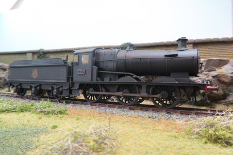 7mm Finescale O Gauge Kit Built BR Black Collett Goods Class 0-6-0 '2213' Weathered!