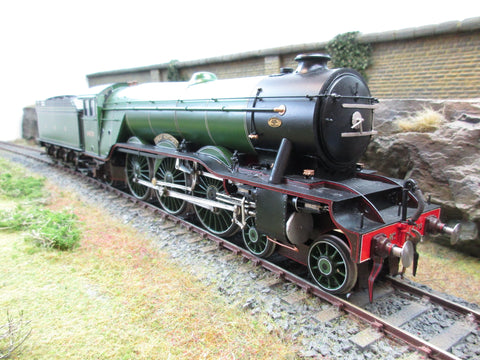 7mm Finescale O Gauge Kit Built GNR 4-6-2 A1 '1470 Great Northern'