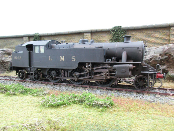 7mm Finescale O Gauge DJH Kit Built LMS 2-6-4T Fairburn '2238' Professionally Weathered'