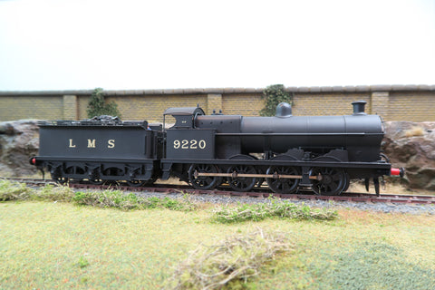 7mm Finescale O Gauge Kit Built LMS Black 0-8-0 6F '9220'