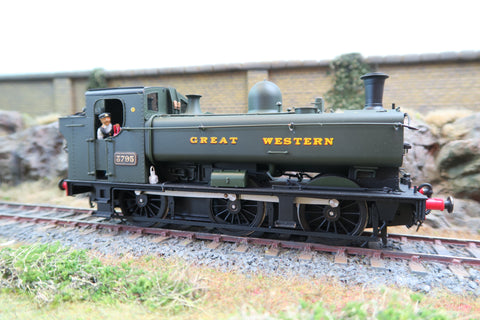 Sancheng 7mm Finescale O GWR 0-6-0 Pannier Tank '3795', DCC Sound!
