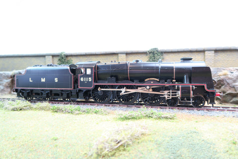 7mm Finescale O Gauge Kit Built LMS Lined 4-6-0 Royal Scot 6115 'Scots Guardsman'