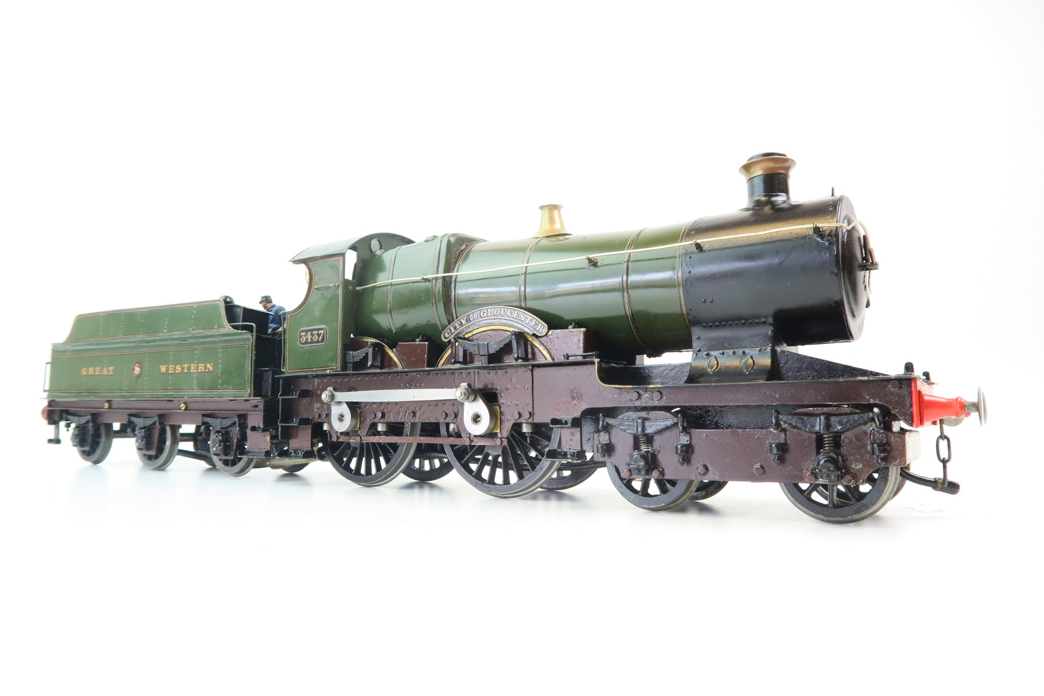 Barrett Engineering Gauge 1 Live Steam Great Western 4-4-0 'City of Gloucester'