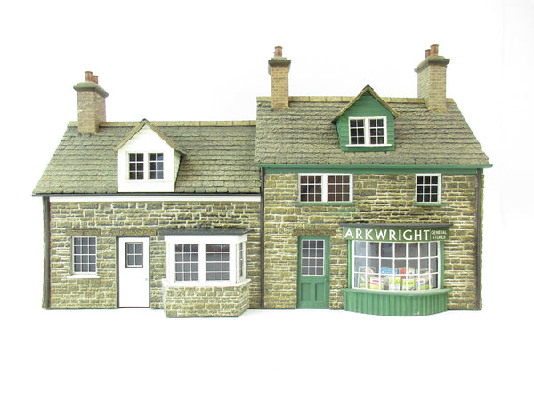 Allan Downes O Gauge 'Arkwright General Stores' Building