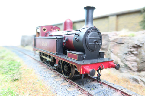 7mm Finescale O Gauge Kit Built LMS 2-4-0T 1P '1450'