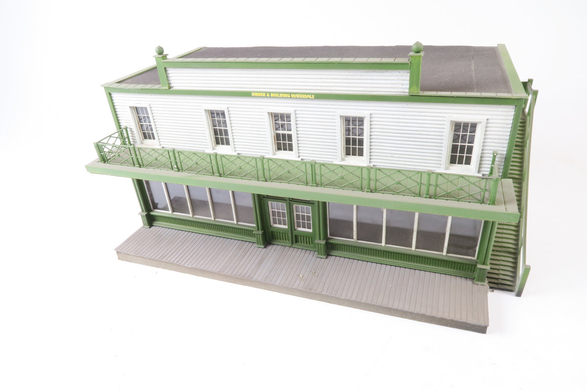 Allan Downes O Gauge American Style T.Owen & Sons Ltd, Lumber & Building Materials Store