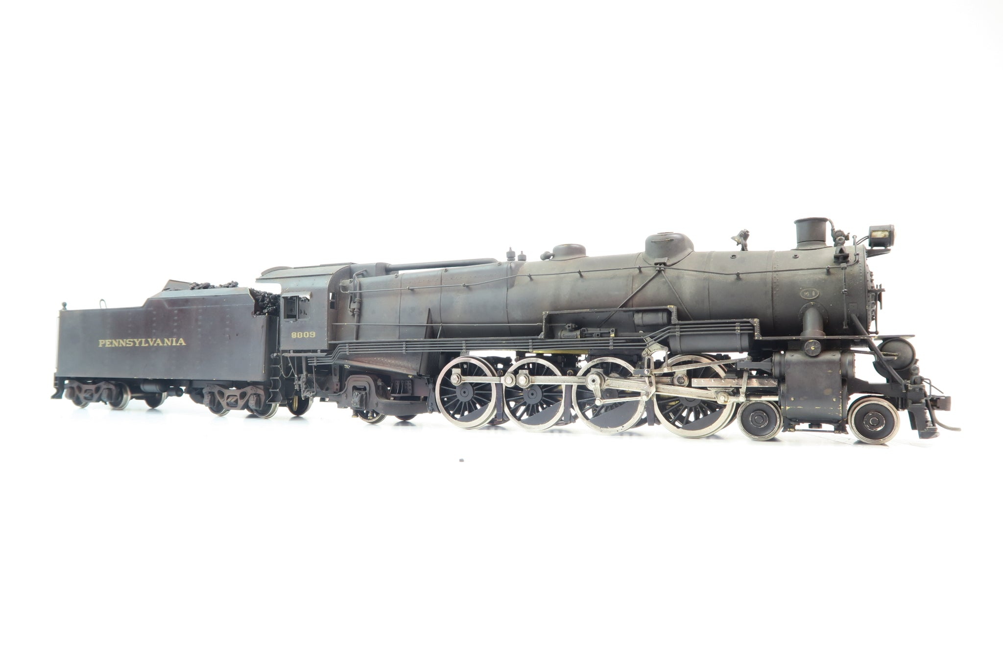 KTM/Westside Model Company O Gauge PRR M-1 4-8-2 '8809' Weathered!